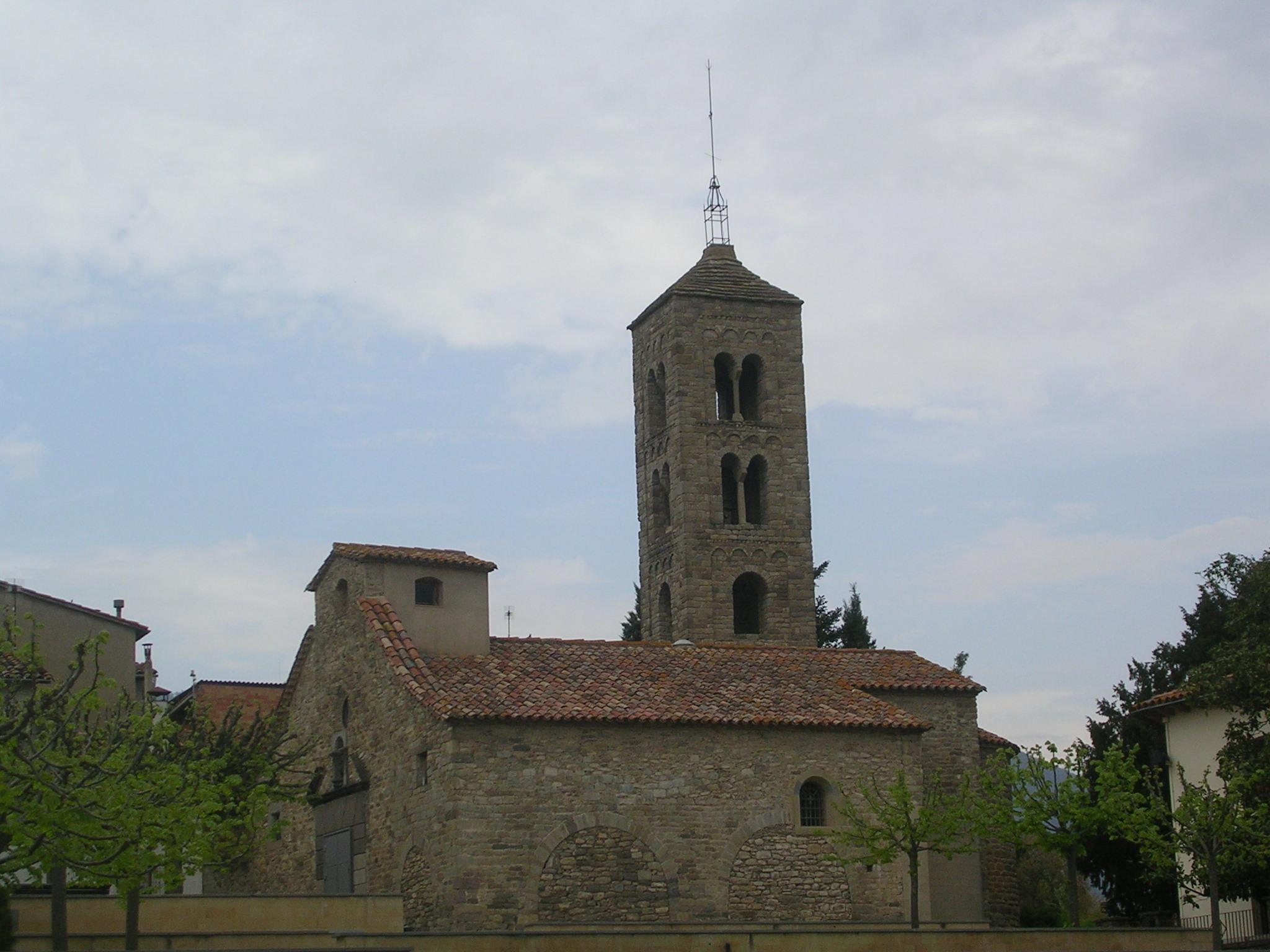 Església romànica del S.XII a St. Vicenç de Torelló